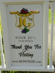 Four JG's WInery
